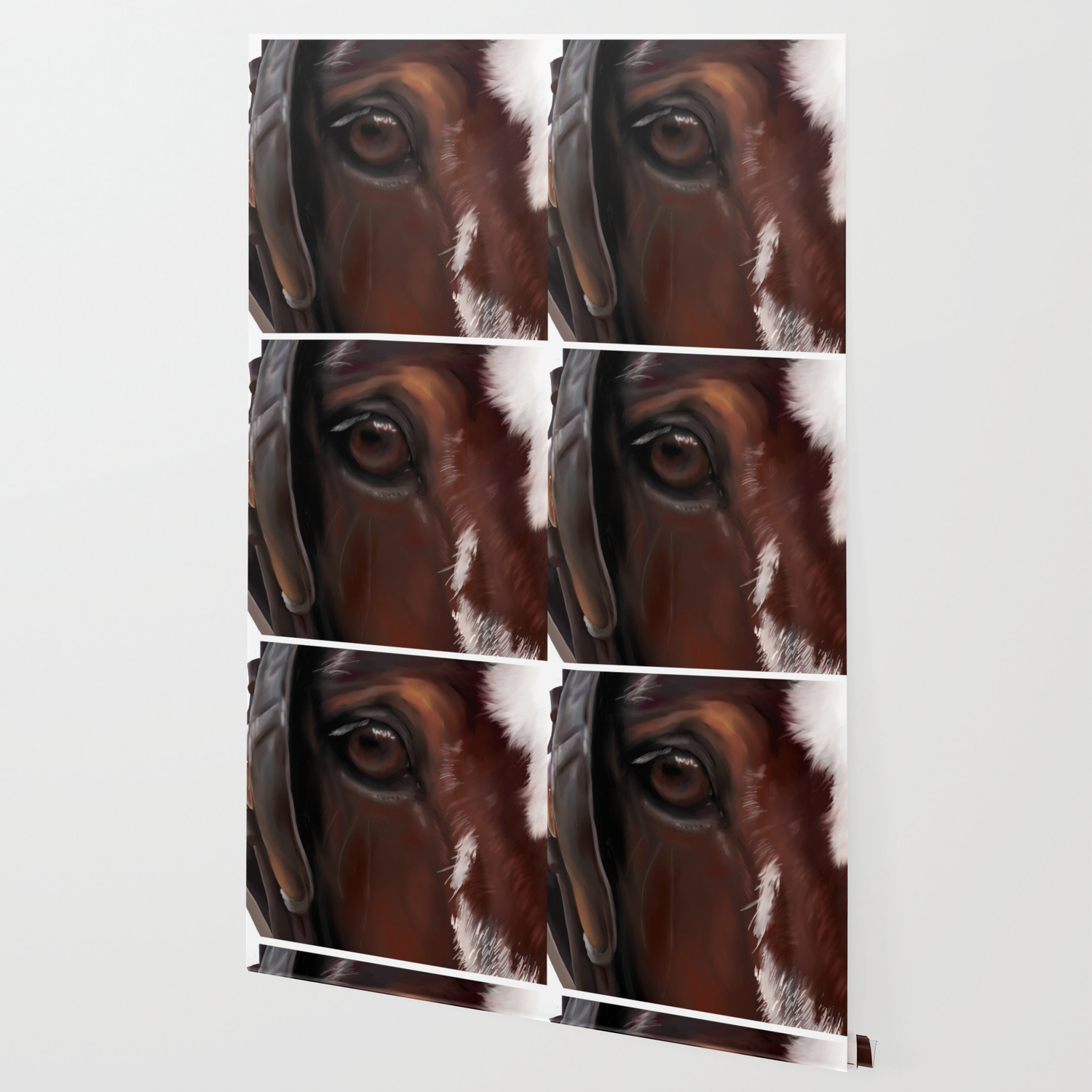 Draft War Horse Wallpaper By Moniquelap Society6