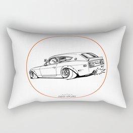 Crazy Car Art 0225 Rectangular Pillow
