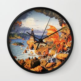 Ultima Online poster Wall Clock
