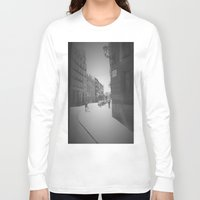 madrid Long Sleeve T-shirts featuring Madrid by Jane Lacey Smith