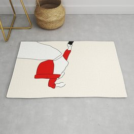 Red dance Rug