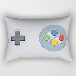 Super Nintendo - Buttons Rectangular Pillow