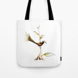 Treebird Tote Bag