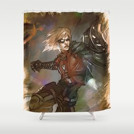 League of Legends EZREAL Pulsefire Shower Curtain
