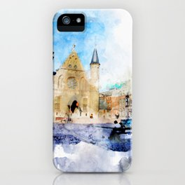 sketch the Hague 2 iPhone Case