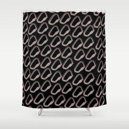 Carabiner Viton Shower Curtain