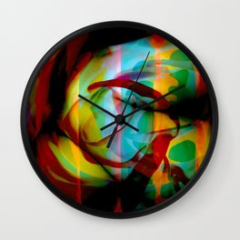 Curled Wall Clock