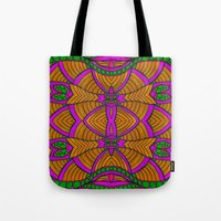 velvet underground Tote Bags featuring Underground by Kimberly McGuiness