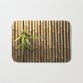 Bamboo Wall Bath Mat