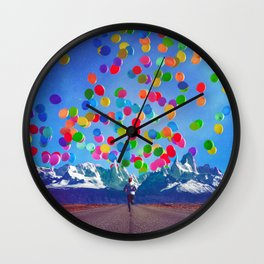 The Here And The Now Wall Clock