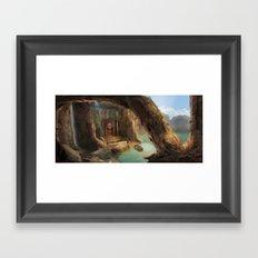 Magic explorer Framed Art Print