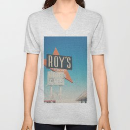 Roys Motel & Cafe ... Unisex V-Neck