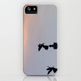 Vittoriano angels at sunset 2 iPhone Case