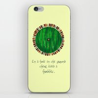 lotr iPhone & iPod Skins featuring Bag End by Cat Vickers-Claesens