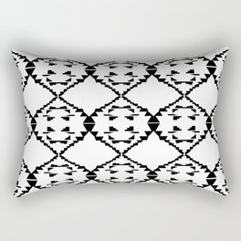 Design ornaments, on white Rectangular Pillow