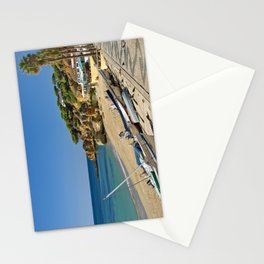 Olhos d'Agua beach in winter, Portugal Stationery Cards