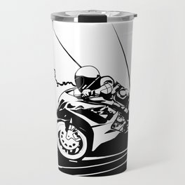 Motorcycle Race Travel Mug