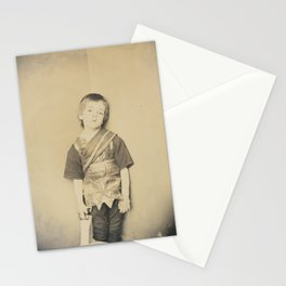 Photograph by Lewis Carroll Achilles in His Tent, 1875 Stationery Cards