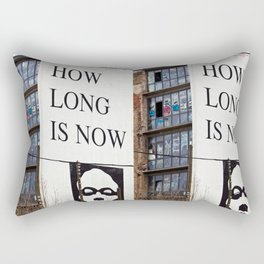HOW LONG IS NOW - BERLIN Rectangular Pillow