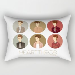 Tegan and Sara: Heartthrob collection Rectangular Pillow
