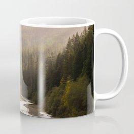 Humboldt County Fall Colors, Autumn Decor, Redwoods, Avenue of the Giants California Photography  Coffee Mug