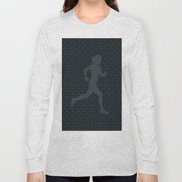5k Runner Girl Long Sleeve T-shirt