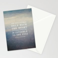 III. Anything essential is invisible to the eyes. Stationery Cards