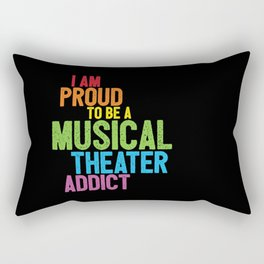 Musical Theater Pride Rectangular Pillow
