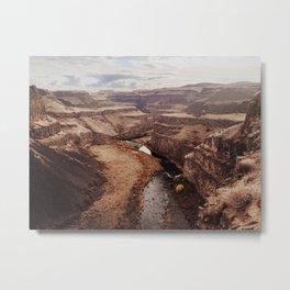 Palouse River Canyon Metal Print
