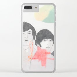 Strawberry fields forever! Clear iPhone Case