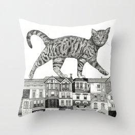 ZEITGEIST Throw Pillow