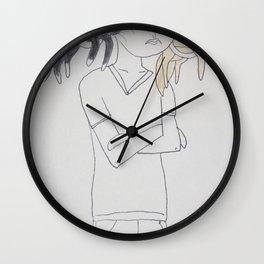 I Take Them Everywhere Wall Clock
