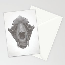 Grizzly Skull Stationery Cards