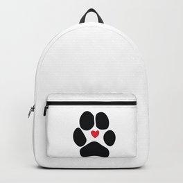 Dog Paw Backpack