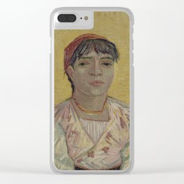 The Italian Woman Clear iPhone Case