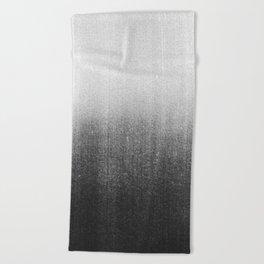 BLUR / abyss / black Beach Towel