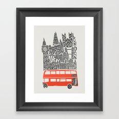London Cityscape Framed Art Print