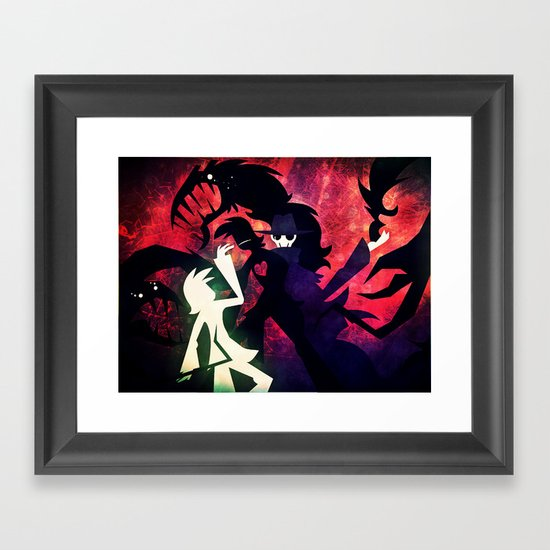 They Betrayed Me Inside Framed Art Print