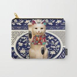 Maneki Neko (Lucky Cat) I Carry-All Pouch