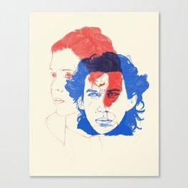 Like Mother, Like Son Canvas Print