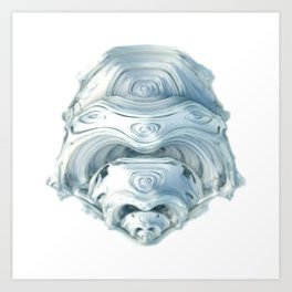 Digital Morphogenesis 2 Art Print