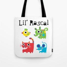 Lil' Rascal - Critters Tote Bag