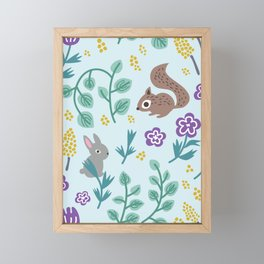 Green Meadow Framed Mini Art Print