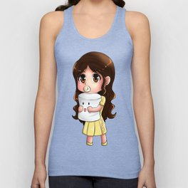 Baby Maine and Mr. Marshmallow Unisex Tank Top