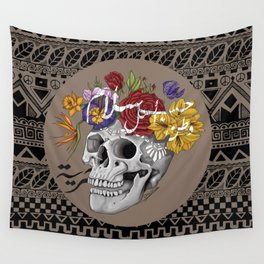 Skull of Life Wall Tapestry