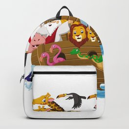 noah animals Backpack