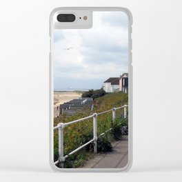 Southwold Promenade Clear iPhone Case