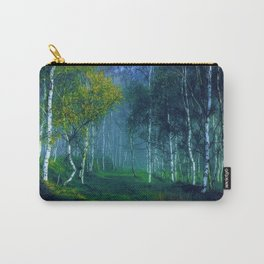 White Birch Forest, New England Landscape Carry-All Pouch