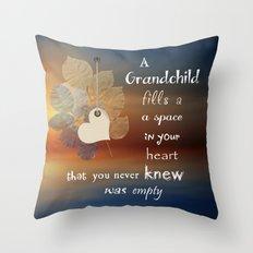 A Grandchild Throw Pillow