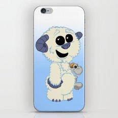 Lil wampa (blue) iPhone & iPod Skin